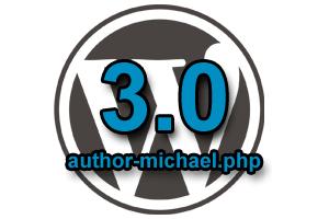WordPress 3.0 Author Template