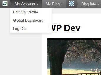 WordPress 3.1 Admin Bar