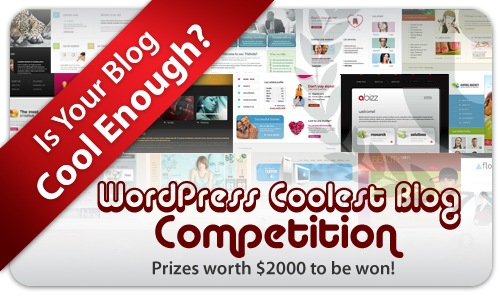 Wordpress Coolest Blog Competition